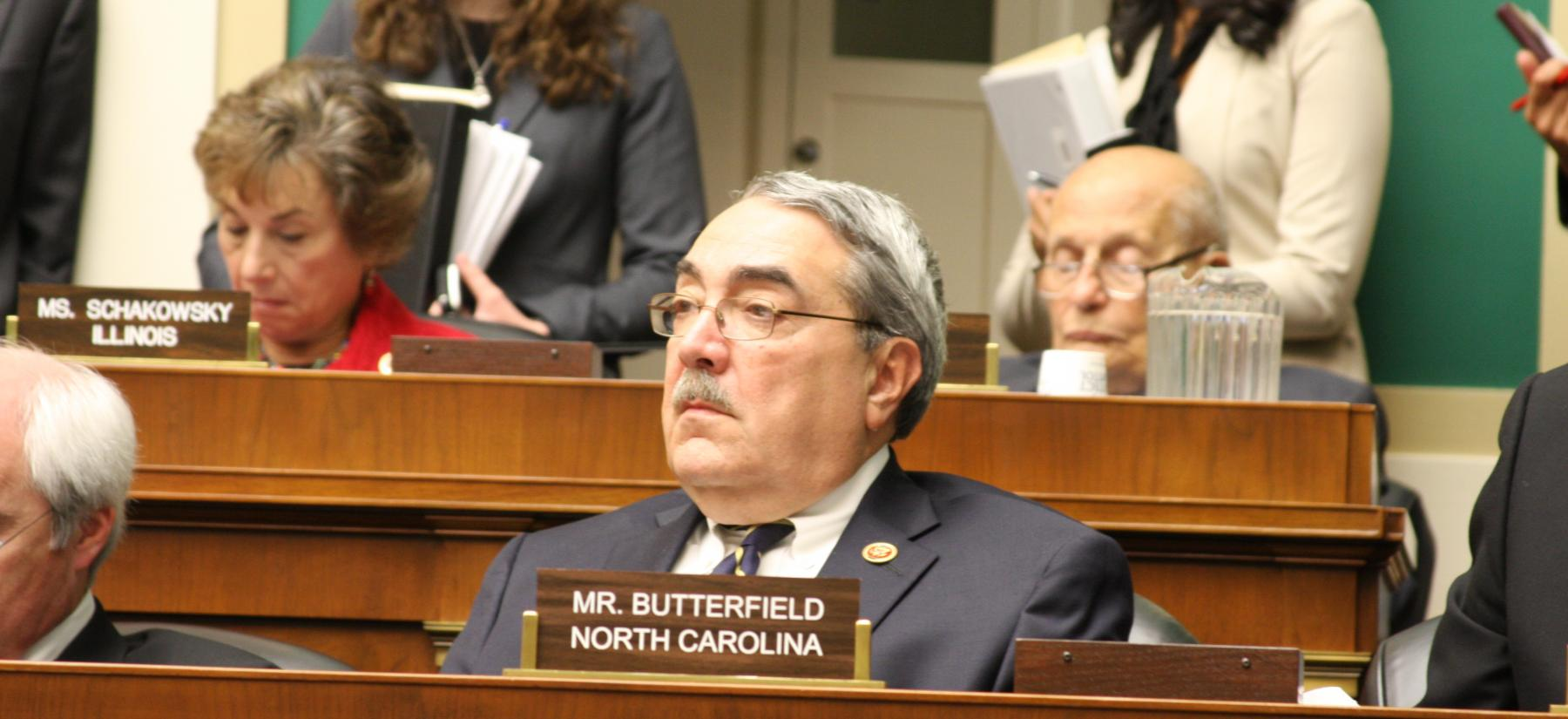 Butterfield, Hudson Bipartisan Life-Saving EMS Bill Passes House