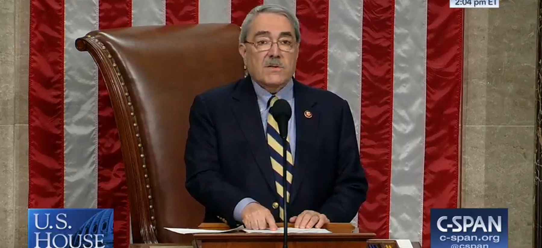 Butterfield Presides over U.S. House of Representatives