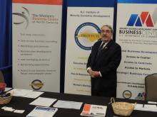 Congressman Butterfield at the NC Institute of Minority Economic Development