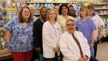 Congressman Butterfield tours the Mast Family Drug Center in Henderson, North Carolina
