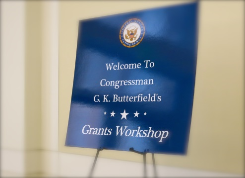 Poster of Congressman Butterfield's Annual Grants Workshop