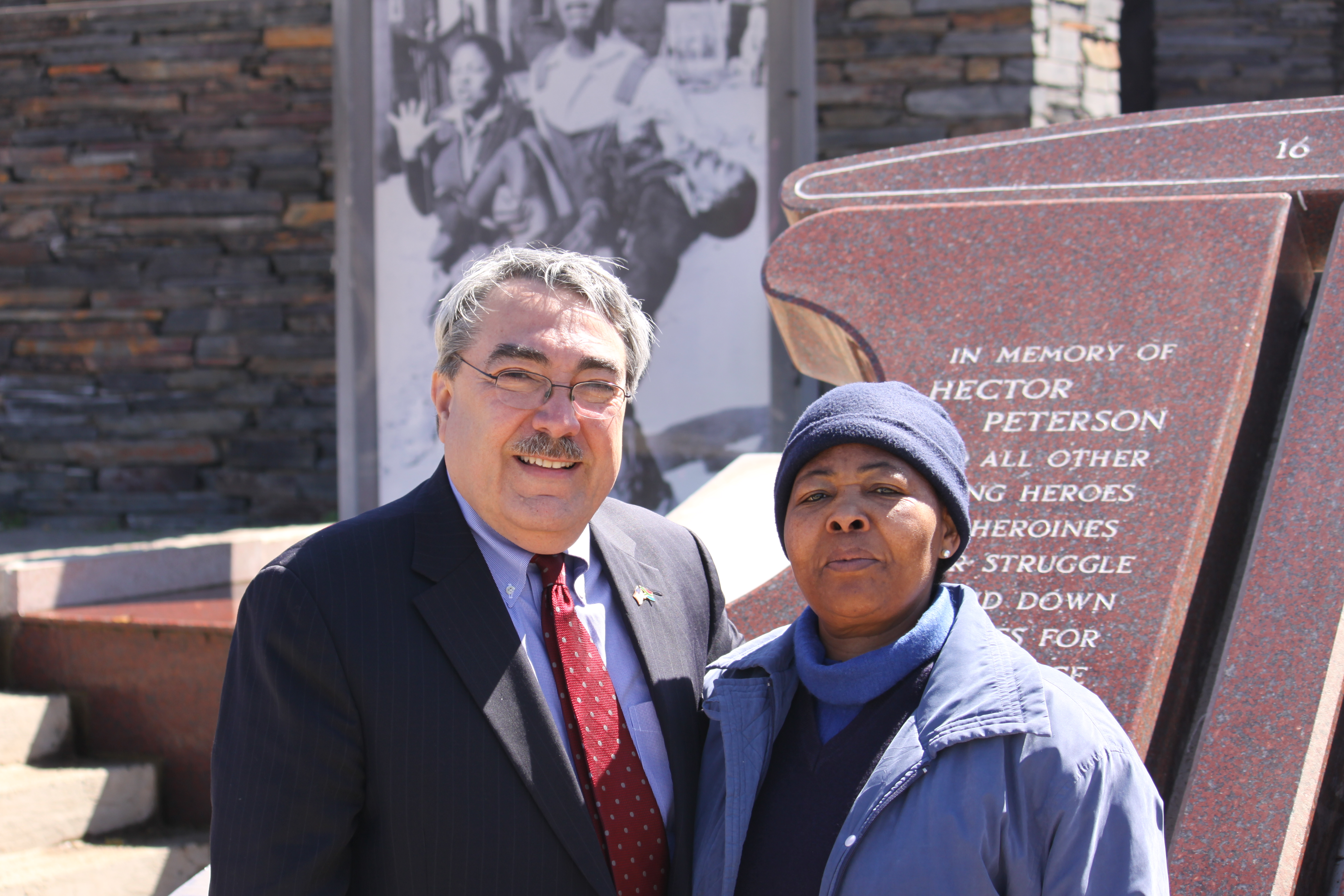 Congressman Butterfield in South Africa