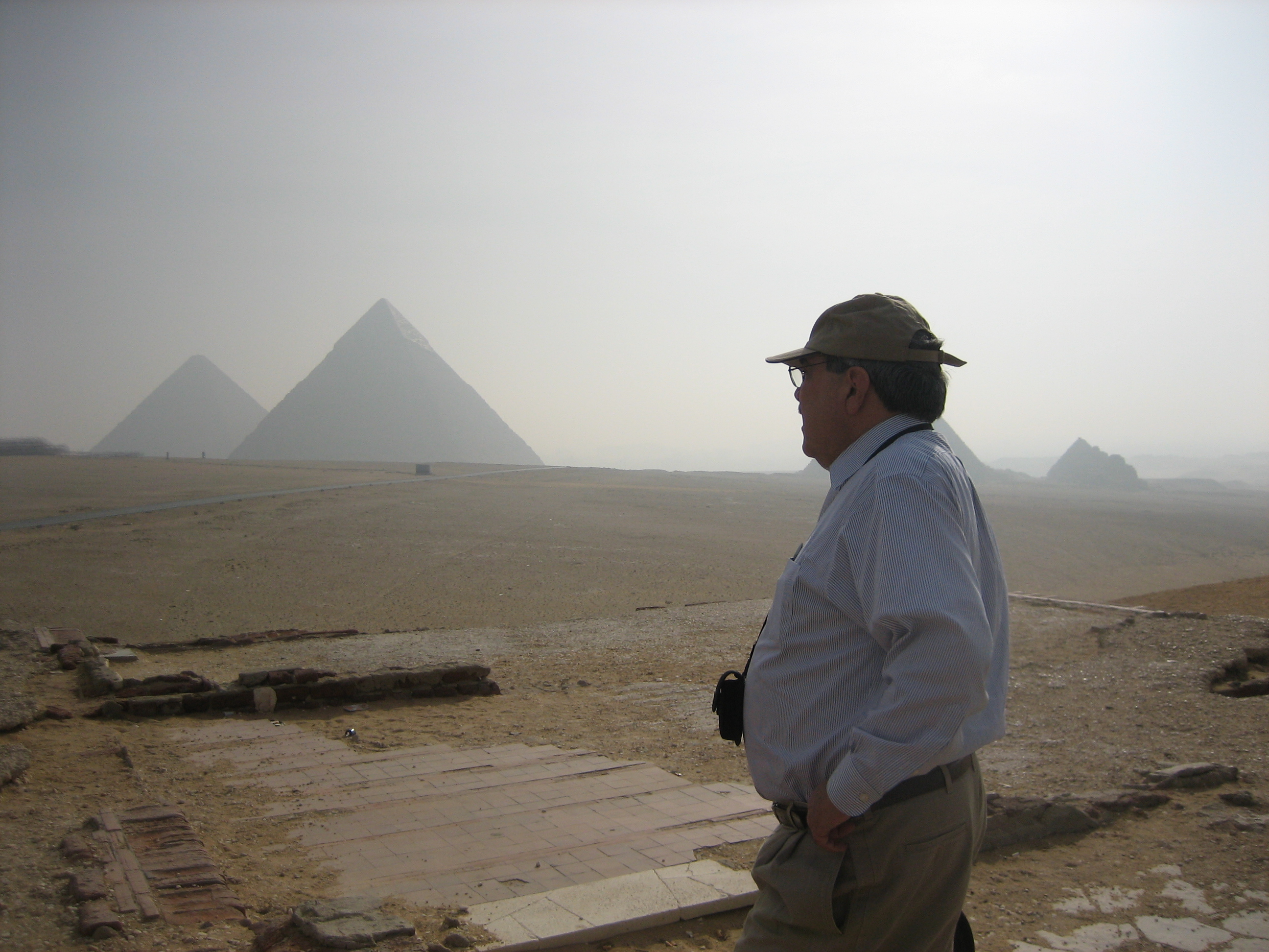 Congressman Butterfield in Egypt