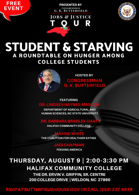 Student & Starving: A Roundtable Addressing Hunger Among High School & College Students