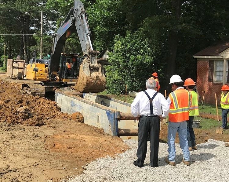Butterfield surveys updates to US HWY 301 in Wilson.