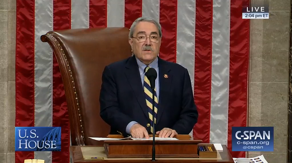 Butterfield Presides over House
